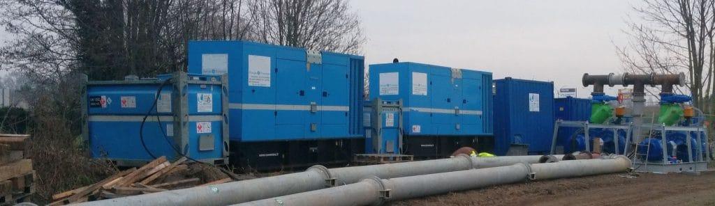 Gorman-Rupp pompen project verhuur